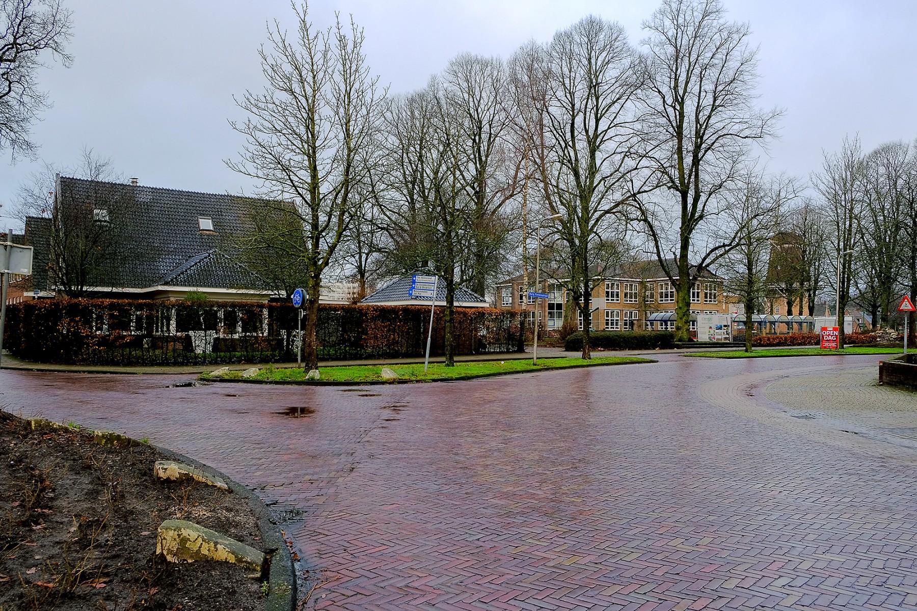 Foto Verkeerssituatie in Dalen