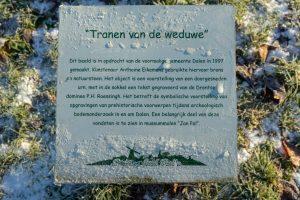 Foto schild De tranen van de Weduwe