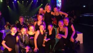 Foto dansers gymvereniging Dalen