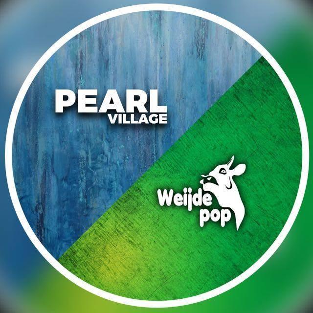 Logo Weijdepop en Pearl Village