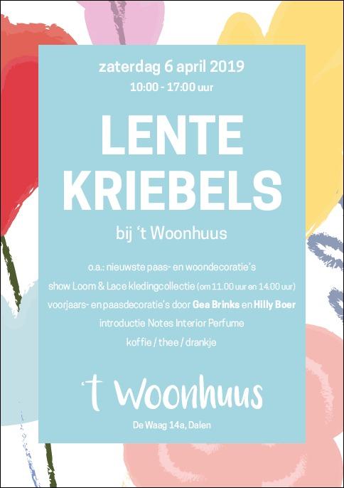 Foto Poster Lentekriebels 't Woonhuus 6 april