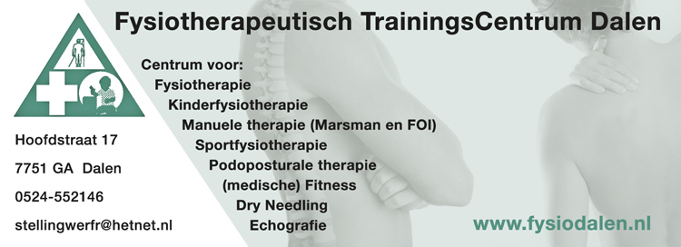 Foto Logo Fysiotherapeutisch Trainingscentrum Dalen