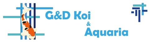 Foto Logo G en D Koi en Aquaria