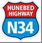 Foto Logo N34 Hunebed Highway