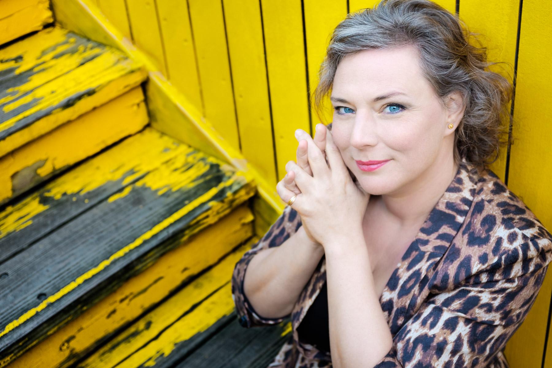 Foto zangeres Esther van Es