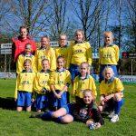 Foto meisjesteam 2 schoolvoetbal 2019
