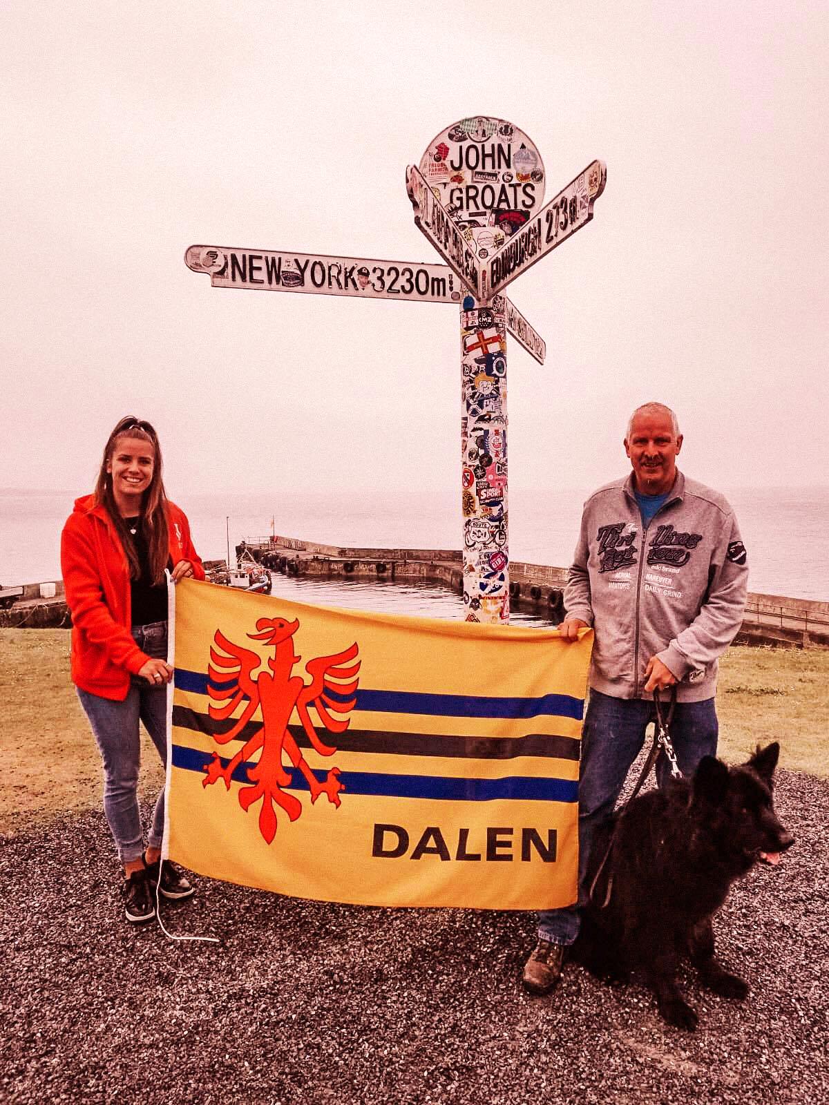 Foto Waar is Dalen: Warta Schotland