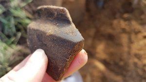 Foto archeologische opgraving N34