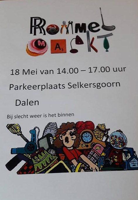 Afbeelding flyer rommelmarkt