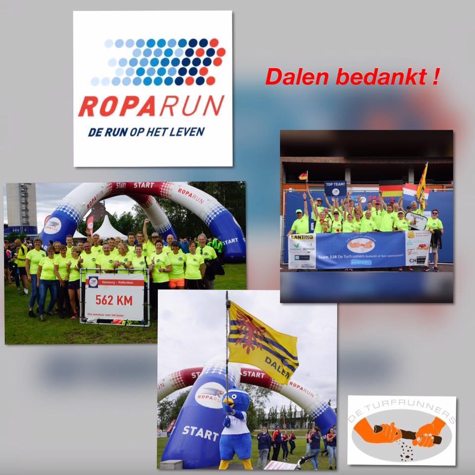 Fotocollage Roparun Turfrunners