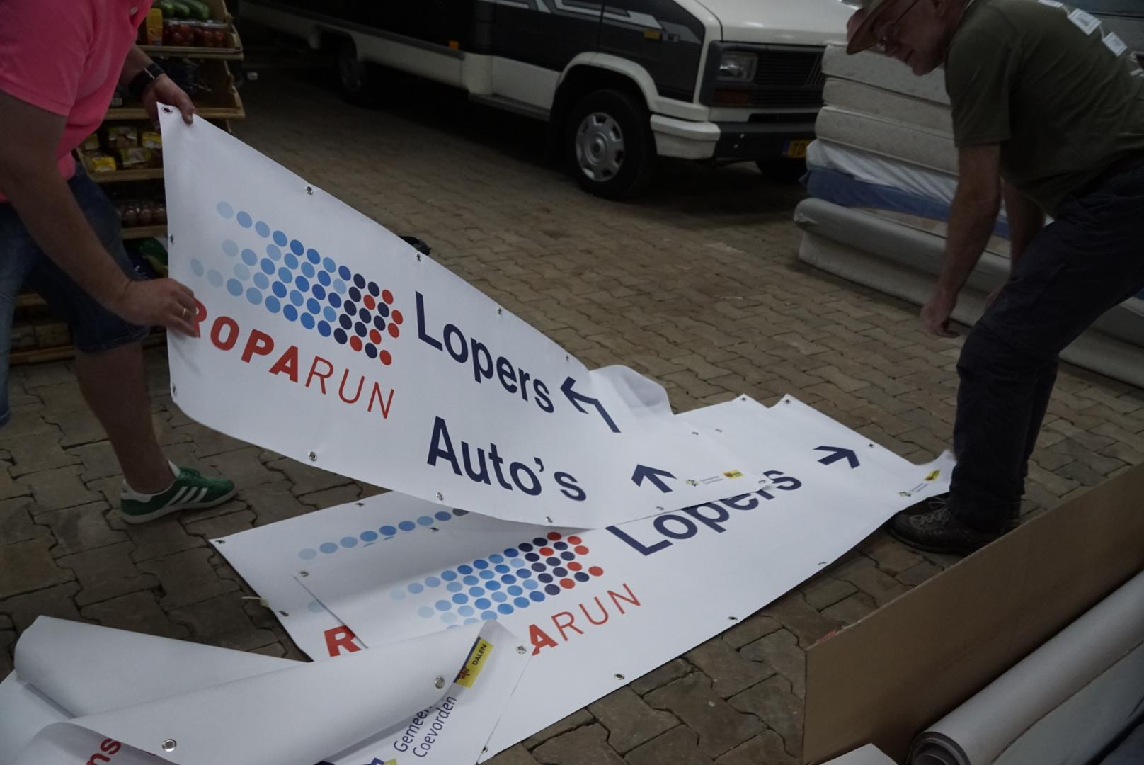 Foto voorbereiding Roparun Turfrunners