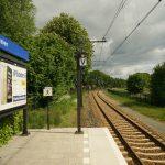 Foto station en spoor Dalen
