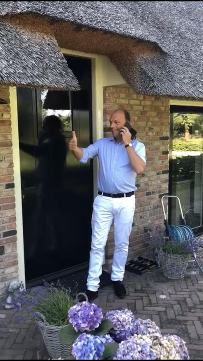 Foto Peter Snijders benoeming burgemeester van Zwolle