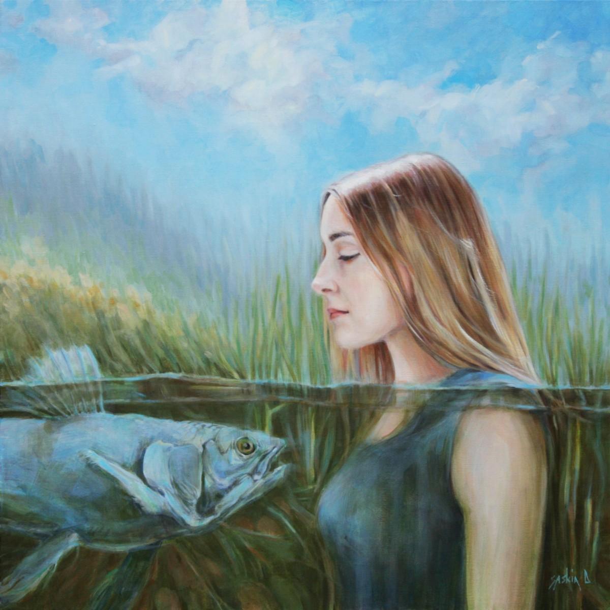 Foto portret door Saskia Dingelstad