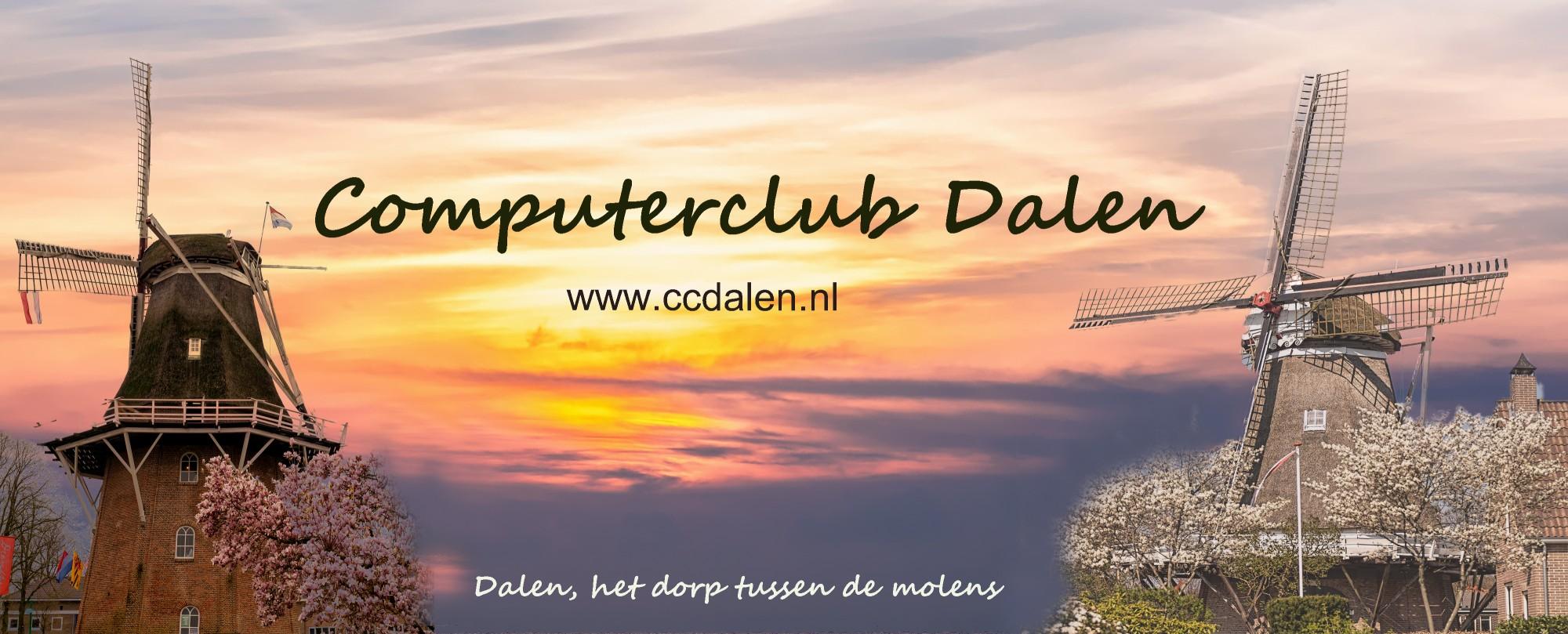 Foto Daler molens voor Computerclub Dalen