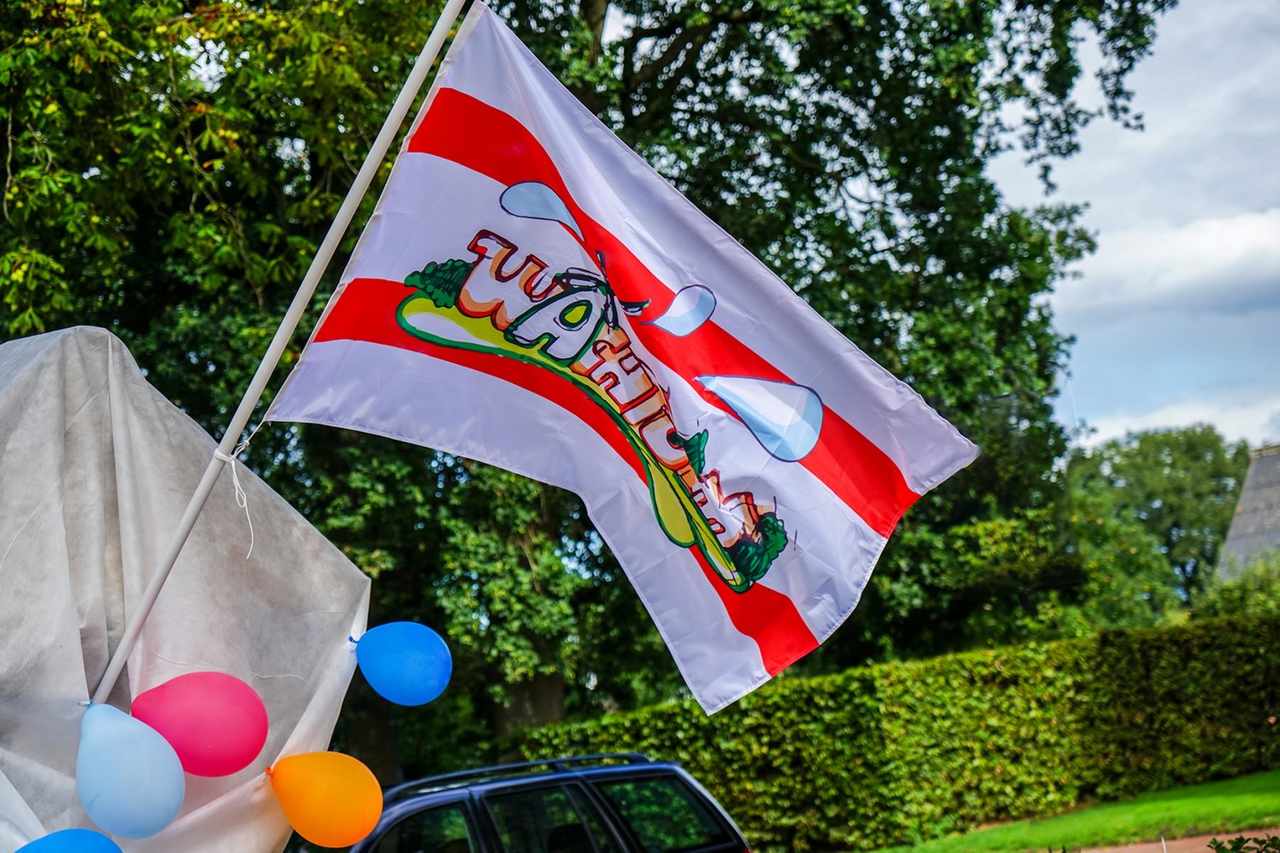 Foto vlag Wachtum