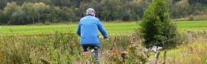 Foto fietser Klompenpadtien