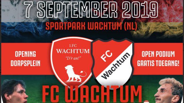 Foto voetbalwedstrijd Wachtum-Wachtum