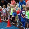 Foto van de start van de Bambino's bij de Albert Eisingloop in Dalen in september 2019.