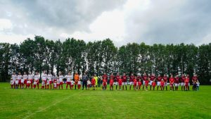 Foto voetbal Wachtum interland