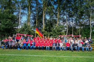 Foto tribune FC Wachtum interland