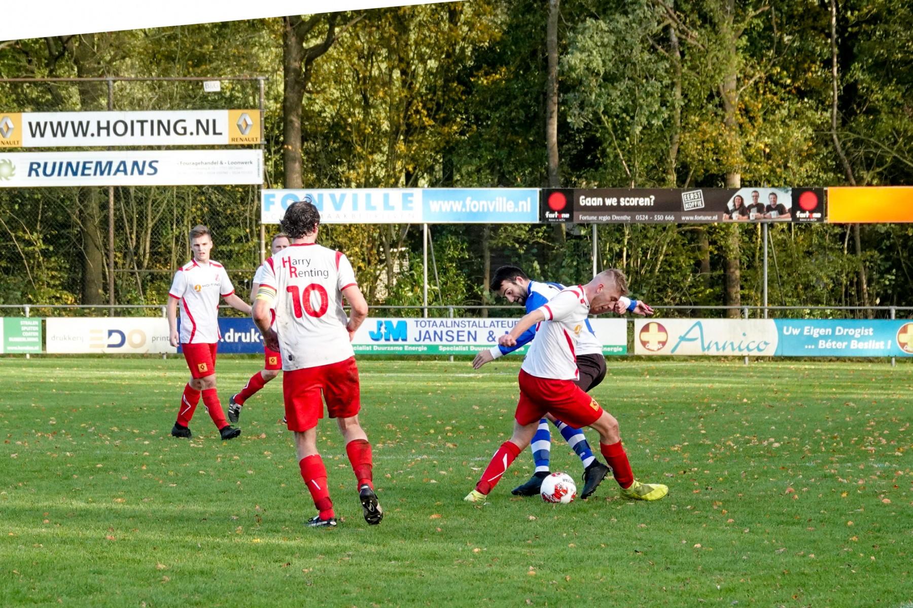 Foto spelsituatie VV Dalen