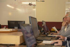 Foto deelnemers computercursus