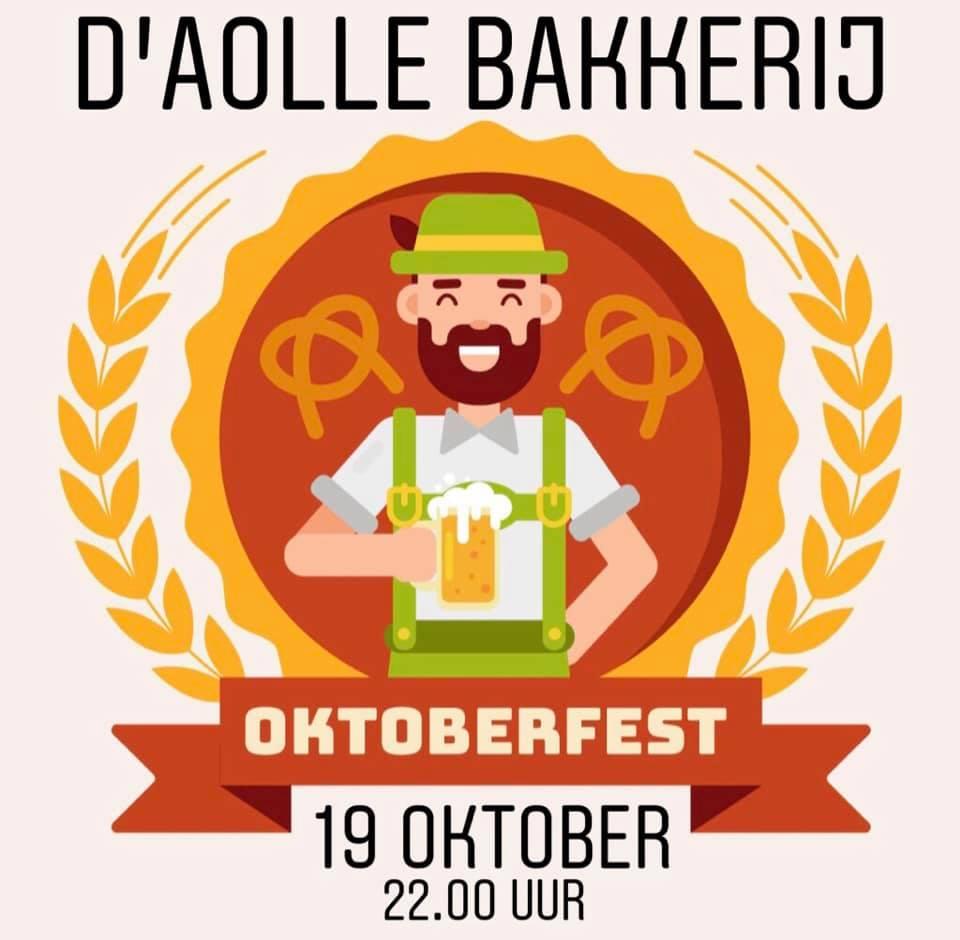 Flyer oktoberfest 2019 Aolle Bakkerij