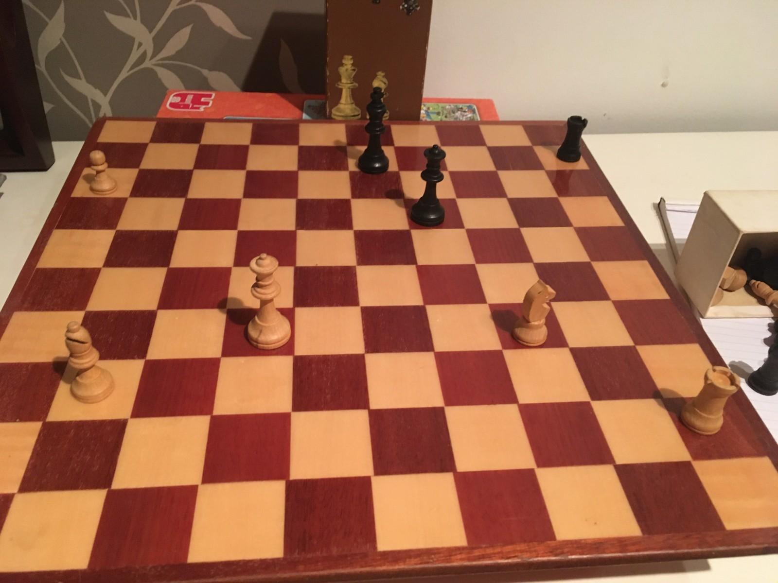 Foto schaakbord