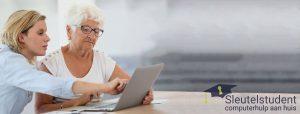 Foto vrouwen met laptop
