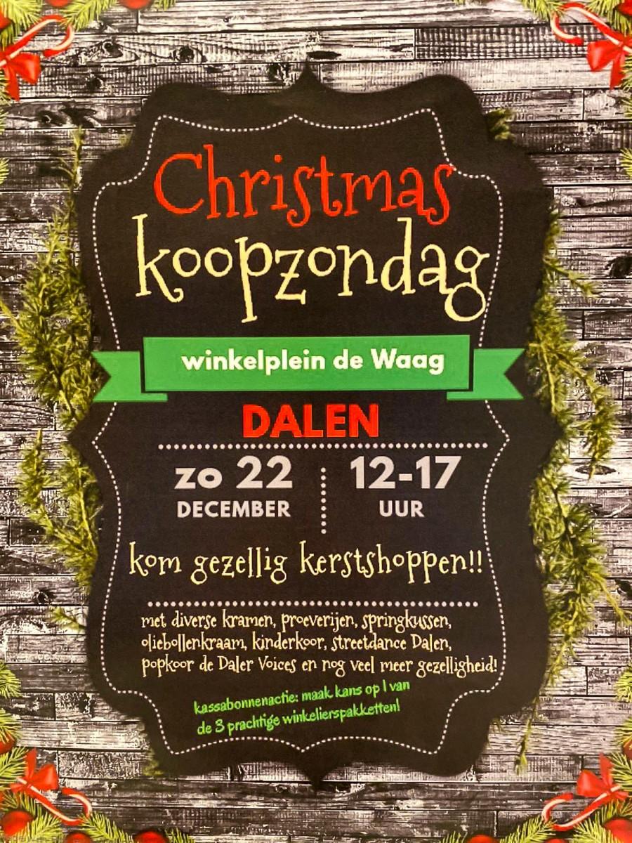 Foto programma Kerstkoopzondag De Waag