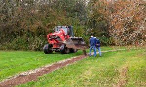 Foto vernieuwing paden Daoler Tuun