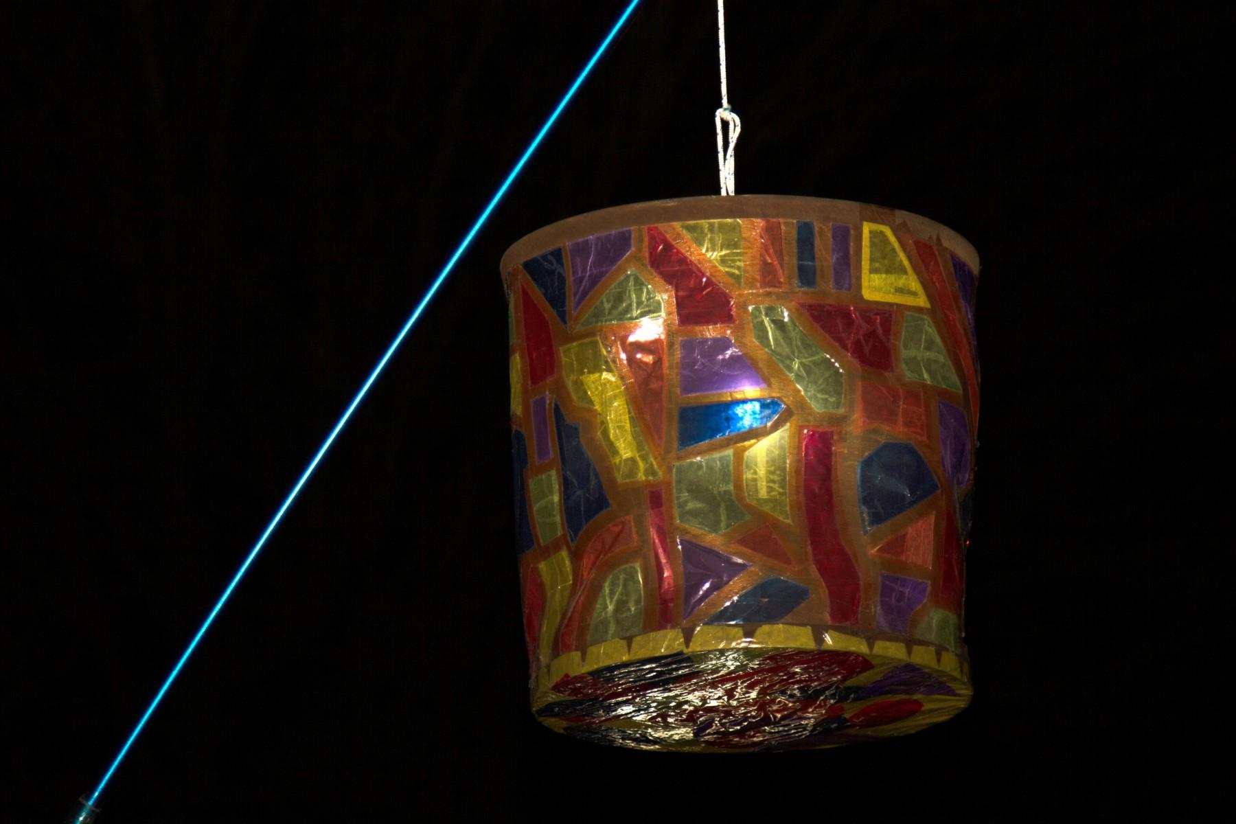 foto van lampion bij St.M