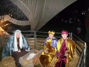 Foto kerststal in Daoler Tuun