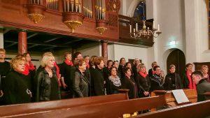 Foto Popkoor Daler Voices bij Kerst op het Plein