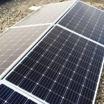 Foto van zonnepanelen