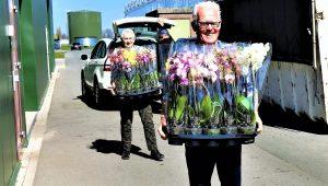 Foto paasactie Seniorenvereniging