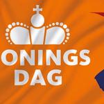 Foto Koningsdag vlag