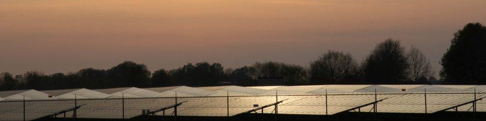 foto duurzaamheid zonnepanelen