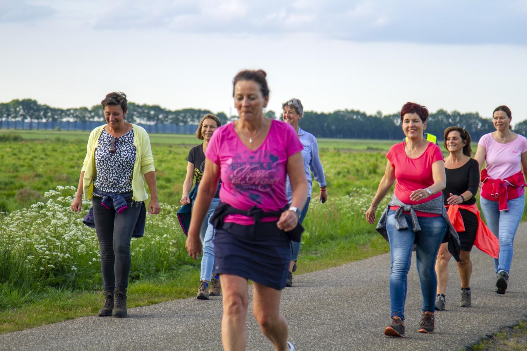 Foto hardlopers en wandelaars Loopgroep CoDac