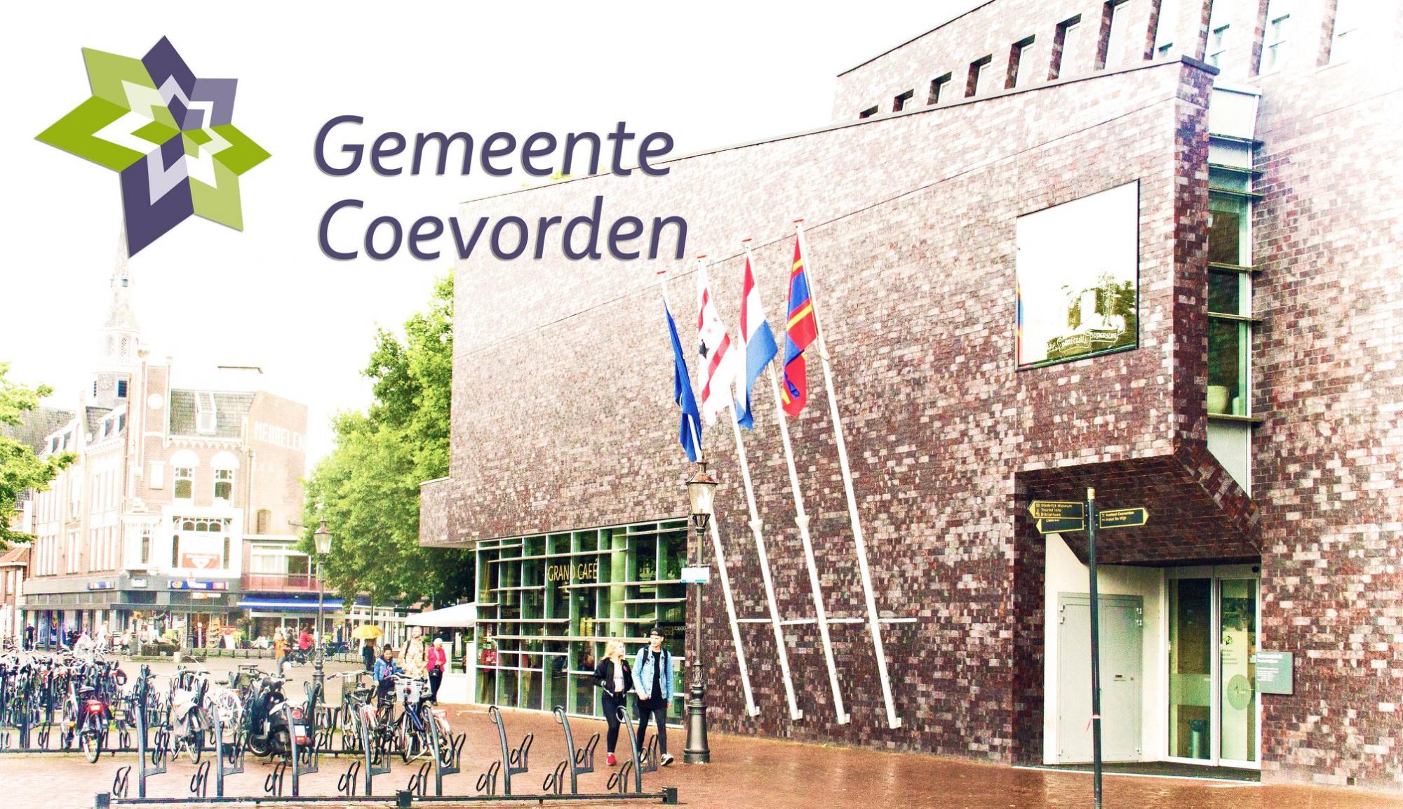 Foto gemeentehuis Coevorden