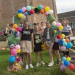 Foto afscheid groep 8 BWB school Dalen 2020
