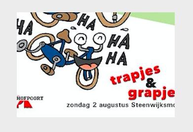 Affiche Trapjes en Grapjes Steenwijksmoer