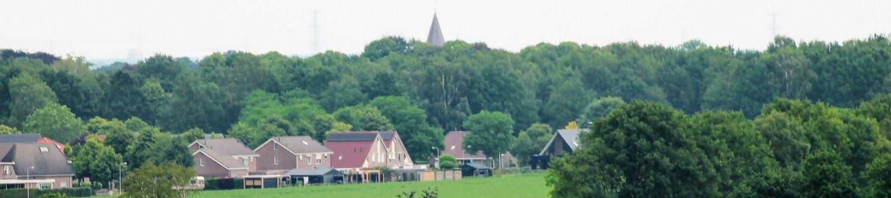 Luchtfoto Achterbente en Molenakkers Dalen