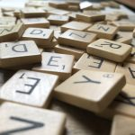 Foto scrabble letters