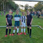 Foto winnend team 4x4 dorpentoernooi 8 tot 12 jaar.