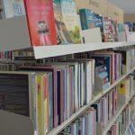 Foto bibliotheek met boeken