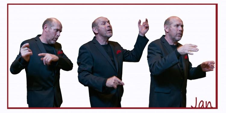 Foto dirigent Jan Kruimink