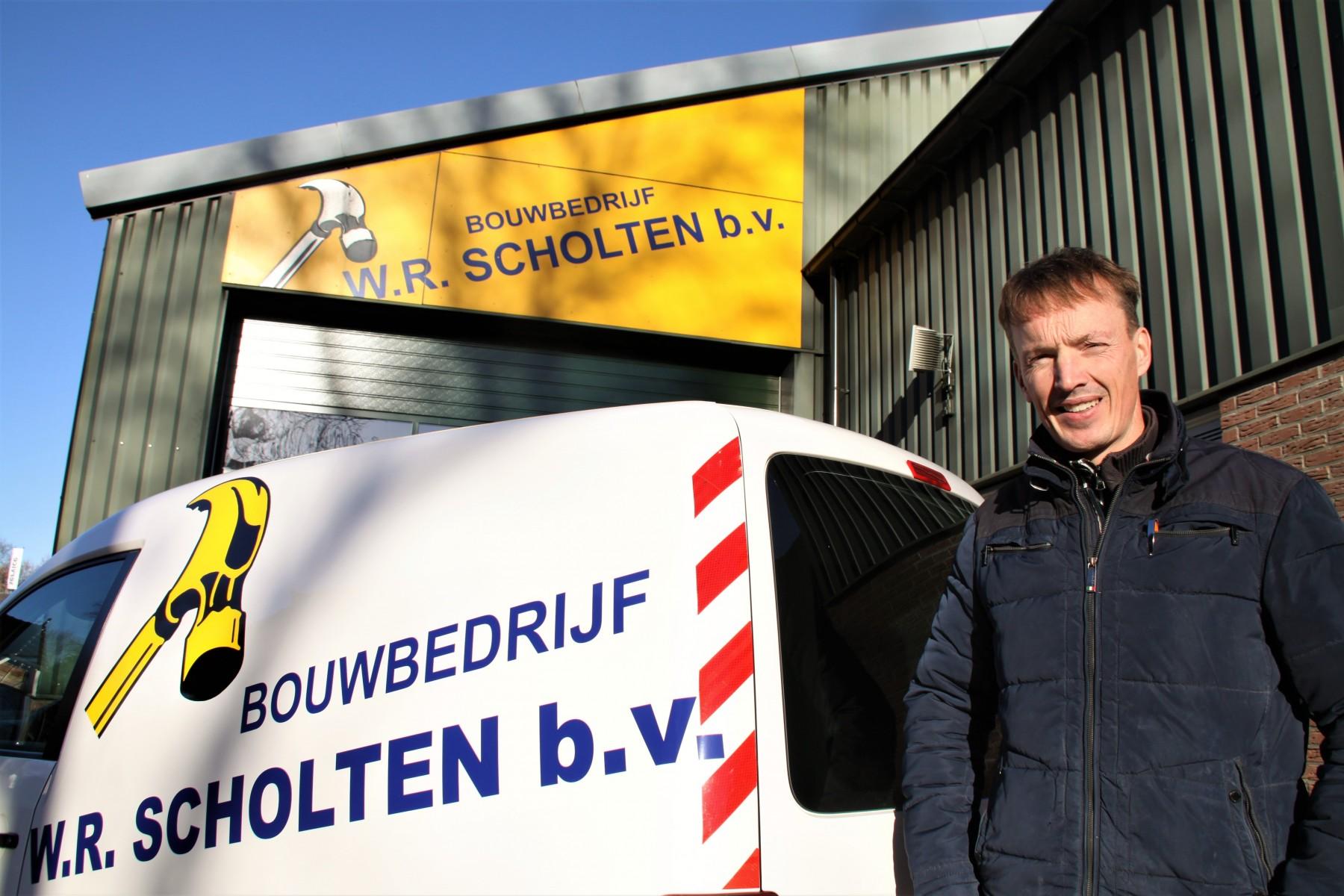 Foto van Johan Scholten bij Bouwbedrijf Scholten