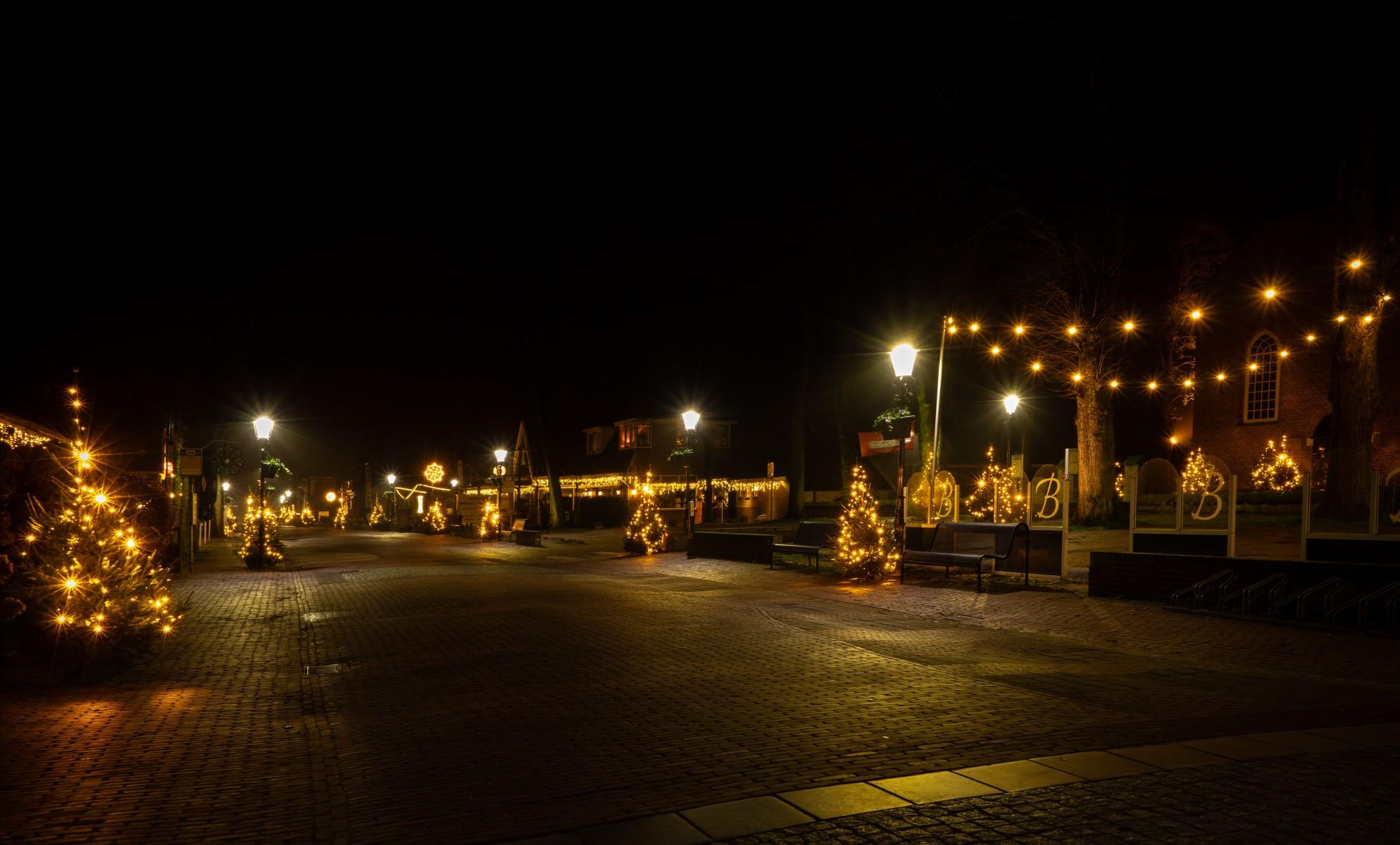 Foto kerst centrum Dalen